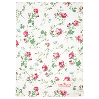 Tea towel Constance white