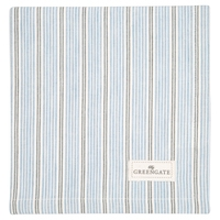 Tova pale blue bread basket napkin