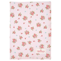 Tea towel abigale pale pink