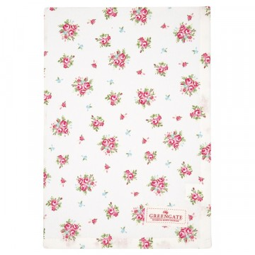 Tea towel abigale white