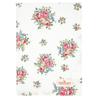 Tea towel franka white