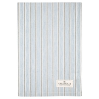 Tea towel tova pale blue