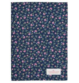 Tea towel Berta dark blue