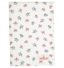 Tea towel Hailey white petit