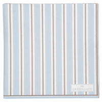 Tova pale blue servietter small